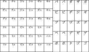 【画像】シンプル版カタカナ表(2枚目)